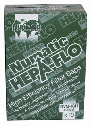 Numatic NVM-1CH Dust Bags for Henry Hoover