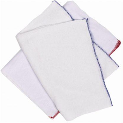 Red Edged Dishcloth