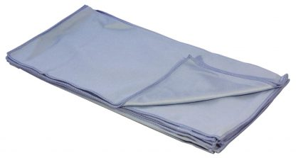 Blue Microfibre Glass Cleaning Cloths