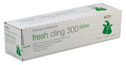 Clingfilm Cutterbox 300mm width roll