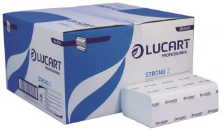Lucart Strong Z-Fold White 2 Ply Paper Towel