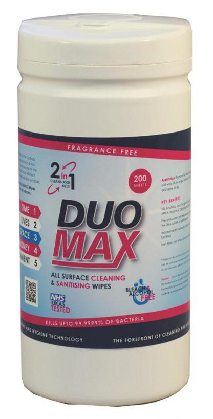 DuoMax Sanitization Wipes