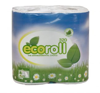 EcoRoll Toilet Rolls 320 Sheet 2 Ply