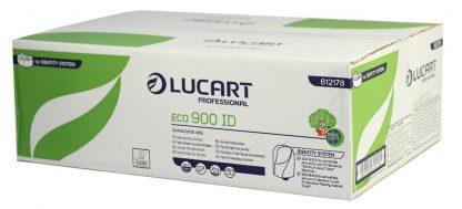 Lucart IDENTITY Eco 2 Ply White Toilet Tissue