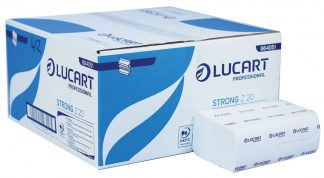 Lucart Strong Z20 Z-Fold White 2 Ply Paper Towel