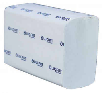 Lucart Strong Z20 Z-Fold White 2 Ply Paper Towel