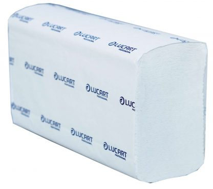 Lucart Strong M-Fold 2 Ply White Pure Pulp Paper Towel