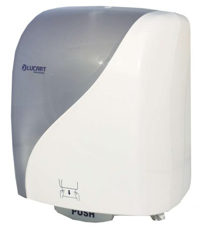 Lucart IDENTITY White Autocut Hand Towel Dispenser