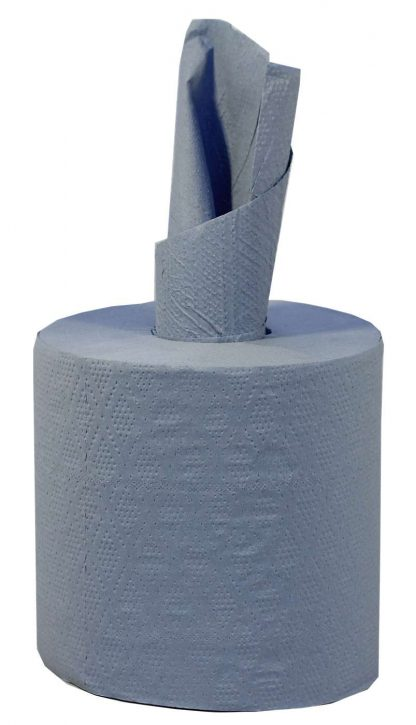 Blue 2 Ply Centrefeed Roll 17.5cm x 120m