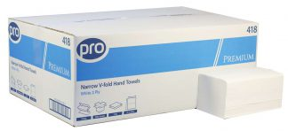 PRO Premium Easipull White 2 Ply Narrow Paper Towel