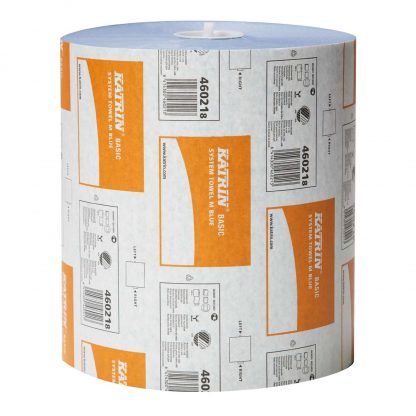 Katrin Basic System Paper Roll Towel M Blue 460218