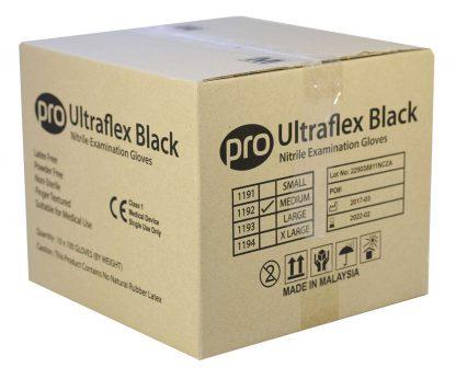 PRO UltraFLEX Black Nitrile Gloves