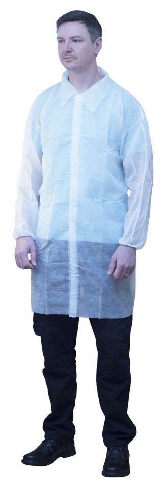 Polypropylene Lab/Visitor Coat