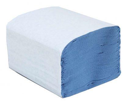 Blue Mini Interfold 1 Ply Paper Hand Towel