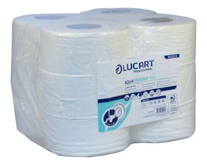 Lucart AquaStream 2 ply Mini Jumbo Toilet Rolls 150m (76mm core) 812223