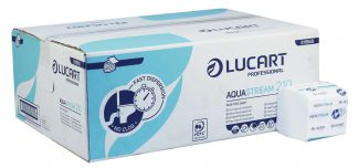 No Clog AquaStream 2 Ply Bulk Pack Toilet Tissue