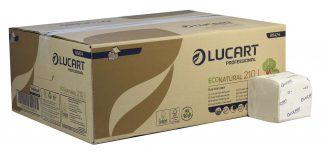 EcoNatural 2 Ply Bulk Pack Toilet Paper Unbleached
