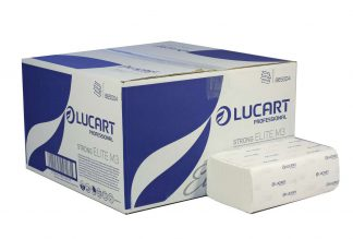 Lucart Strong M-Fold 3 Ply White Paper Towel