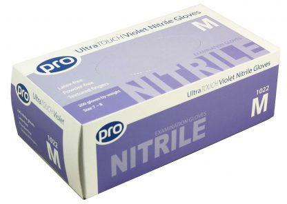 PRO UltraTOUCH Violet Nitrile Gloves