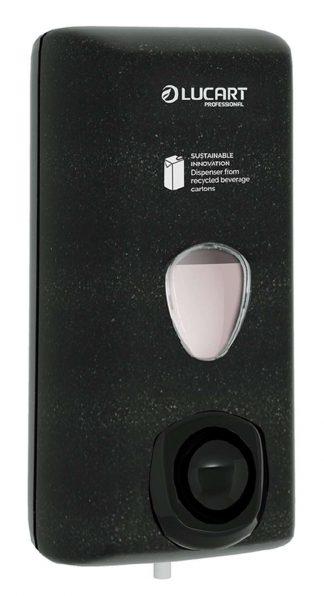 Lucart Black Alpe Bulk Soap Dispenser