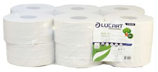 Lucart Eco Mini Jumbo Toilet Rolls 180m (60mm core) 812009