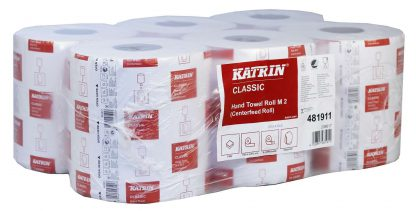 Katrin Classic M2 White Centrefeed Roll 481911
