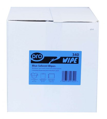 PRO Blue Solvent Wipe