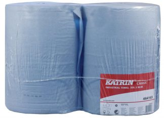 Katrin Classic XXL2 Blue Industrial Wiping Roll 464163