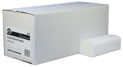 PRO Premium Interfold 2 Ply White Paper Hand Towels