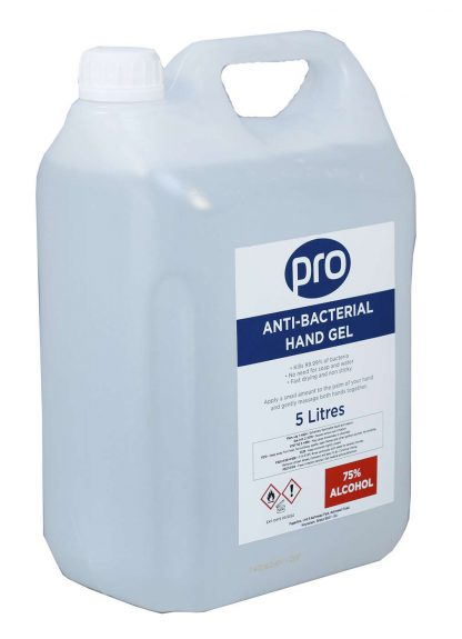 PRO Sanitising Alcohol Hand Gel 2 x 5L