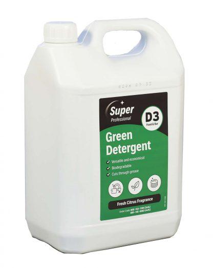 Green Detergent Washing Up Liquid