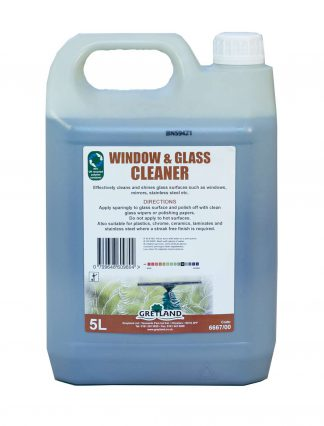 Window and Glass Cleaner 2 x 5L