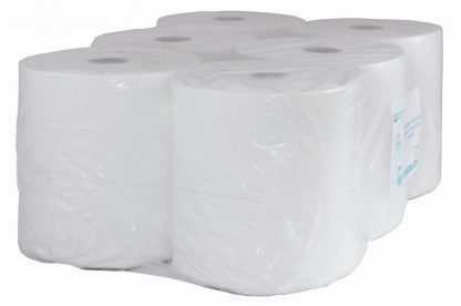 Autocut 2 Ply White Roll Towel