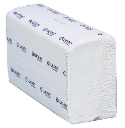 Lucart Strong Z-Fold White 2 Ply Paper Towel