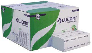 Lucart Eco Z-Fold White 2 Ply Paper Towel