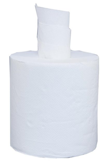 Lucart Strong 2 Ply White Centrefeed 20cm x 135m