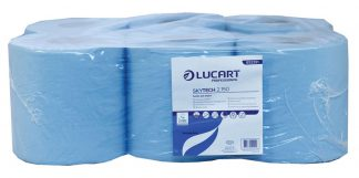 SkyTech Blue Centrefeed Roll 2 Ply Recycled 20cm x 150m