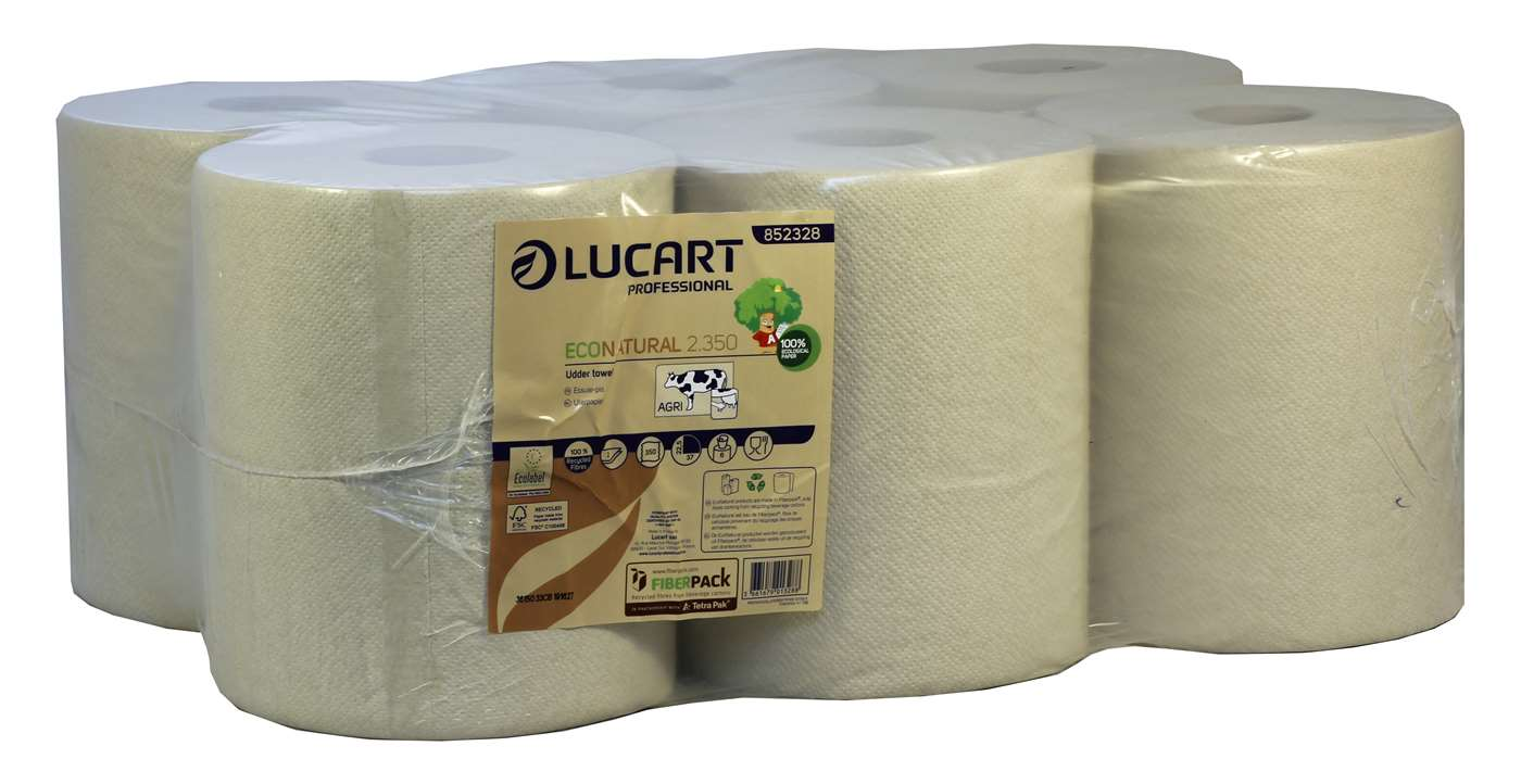 EcoNatural 2 Ply Udder Wipe